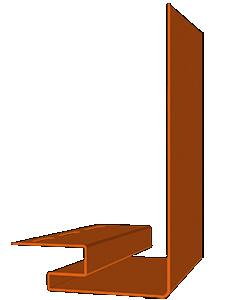 J-фаска для сайдинга Тоффи 203,2 х 3050 мм Акриловый Деке (Docke)
