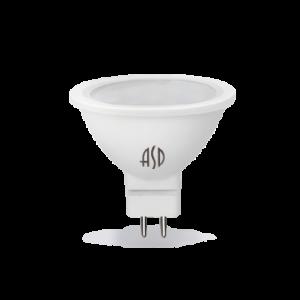 Лампа светодиодная ASD GU5.3 5.5Вт 3000K 495Лм