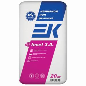 Наливной пол ЕК LEVEL 3.0. финишный 20 кг