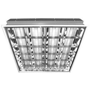 Светильник люминисцентный Милано встраеваемый 595х595мм 64Вт (4х18Вт)