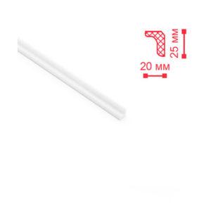 Декоплинтус потолочный Nomasty МО 25х20 мм 2 м