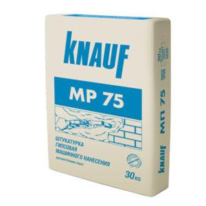 Штукатурка гипсовая Кнауф МР-75 машинного нанесения 30 кг