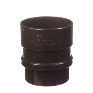 Муфта соединительная Lux  Шоколад D=100 Деке (Docke)