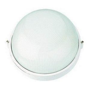 Светильник пылевлагозащищенный 1x60Вт(Е27) IP54 круг 180x115 ИЭК