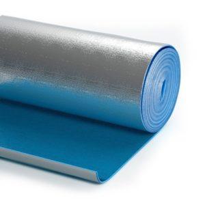 Отражающая изоляция Пенофол 2000 С 15 м х 0,6 м х 10 мм самоклеющаяся