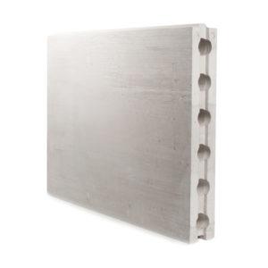Пазогребневая плита пустотелая Аксолит 667х500х80 мм (ПГП)