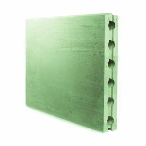 Пазогребневая плита пустотелая влагостойкая Аксолит 667х500х80 мм (ПГПВ)