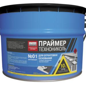 Праймер битумный ТЕХНОНИКОЛЬ №01 16 кг