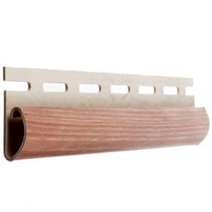 Профиль финишный БлокХаус Рябина 3050 мм Деке (Docke)
