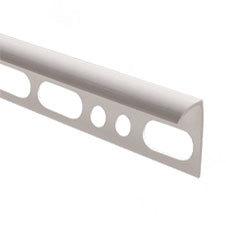 Раскладка под плитку 9 мм наружный белый 2,5 м