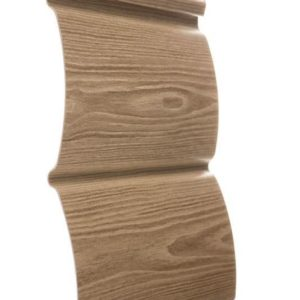 Сайдинг Орех 240 х 3660 мм БлокХаус Docke Wood Slide Sпол=0,88 м2