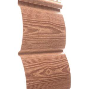 Сайдинг Рябина 240 х 3660 мм БлокХаус Docke Wood Slide Sпол=0,88 м2