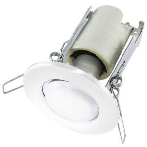 Светильник точечный R63 Е27 белый