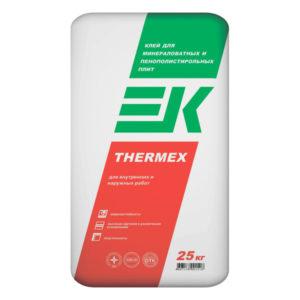 Клей ЕК THERMEX 25 кг для минераловатных и пенополистерольных плит