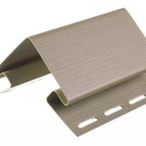 Угол внешний для сайдинга Крем-Брюле 3050 мм Деке (Docke)