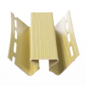 Угол внутренний Яблоня 3050 мм для сайдинга БлокХаус Деке (Docke)