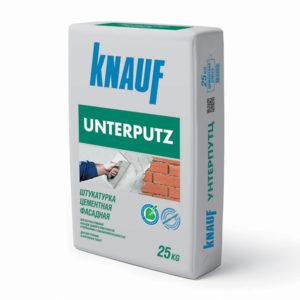 Штукатурка цементная фасадная Кнауф Унтерпуц 25 кг